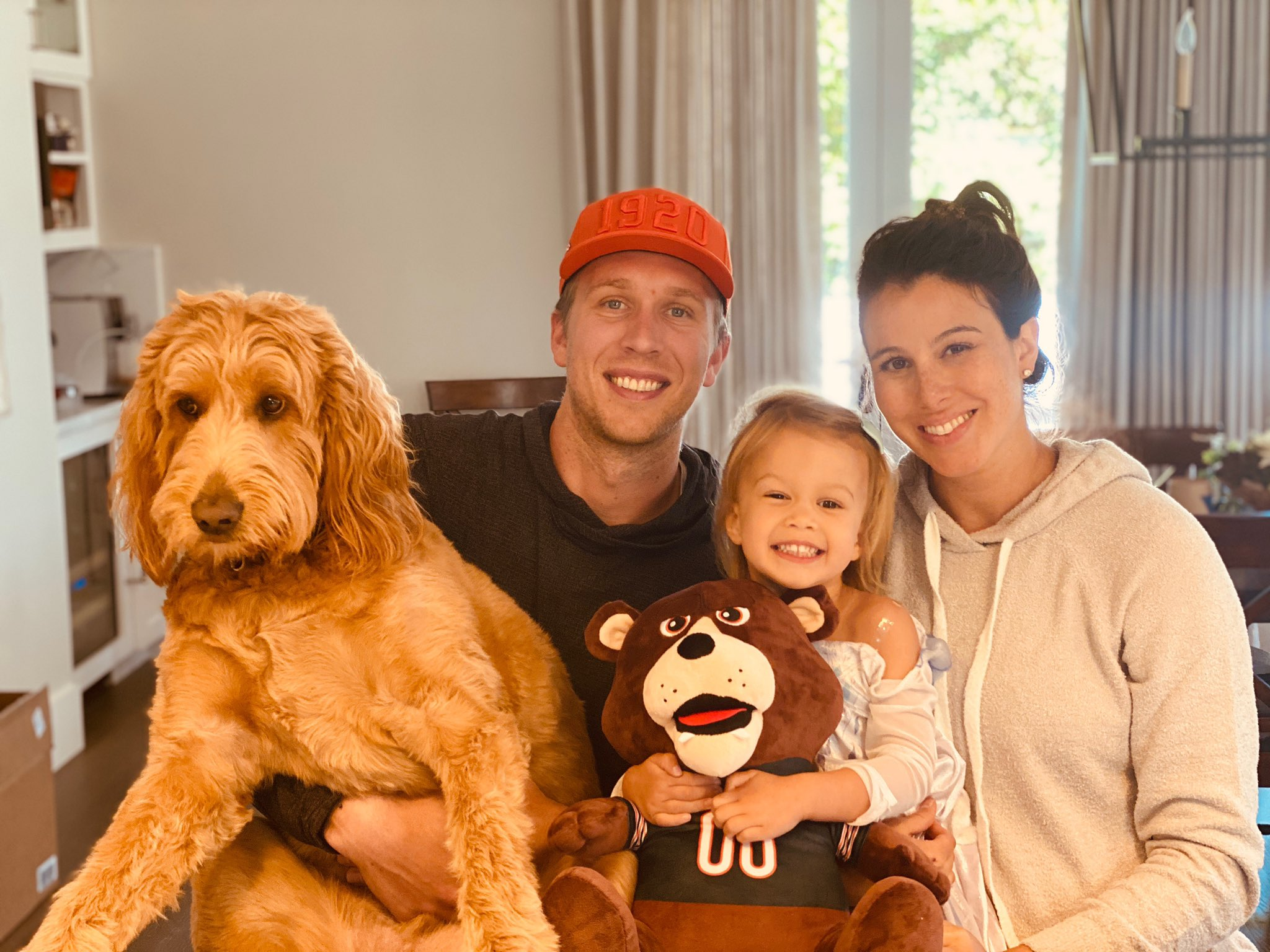 Nick Foles and Family